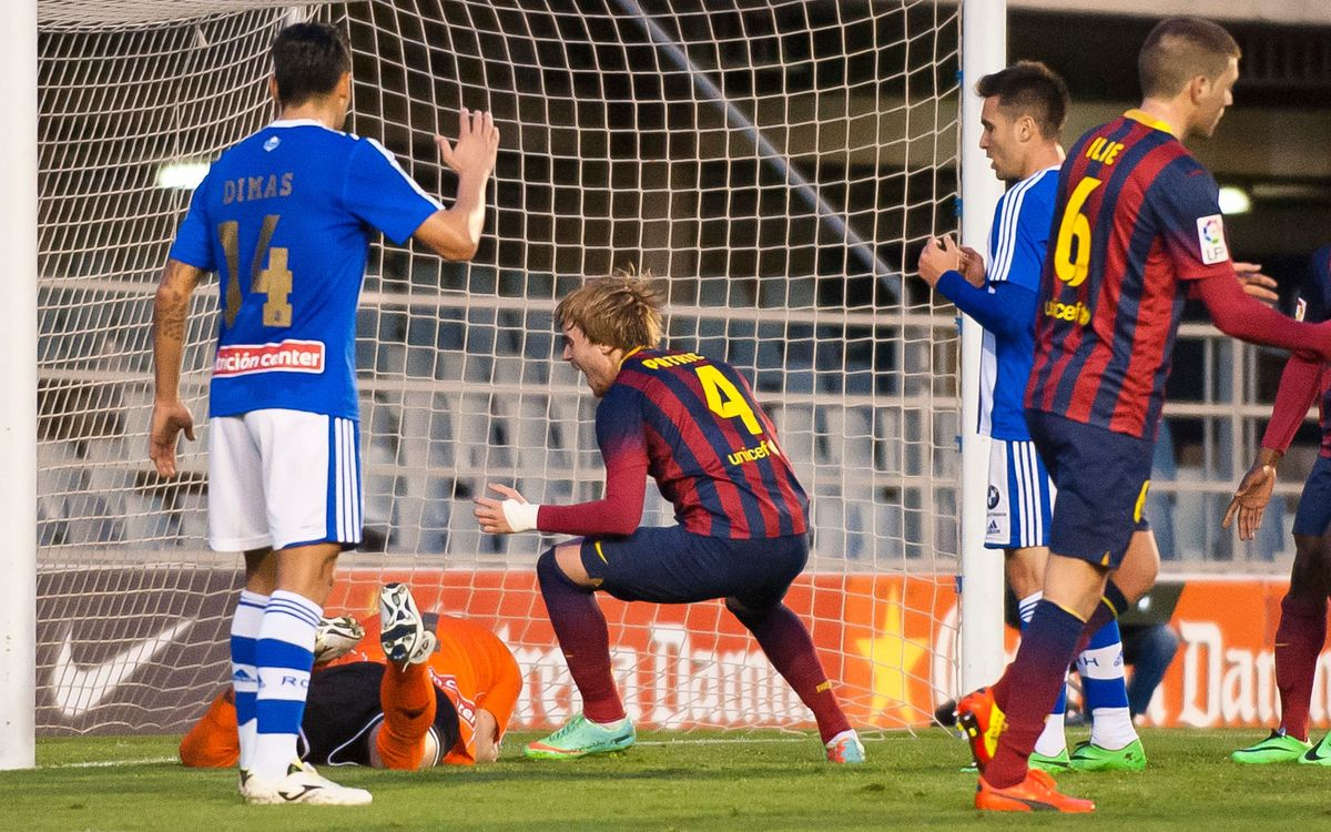 Barça B – RC Recreativo: Unjust reward for consistency (0-1)