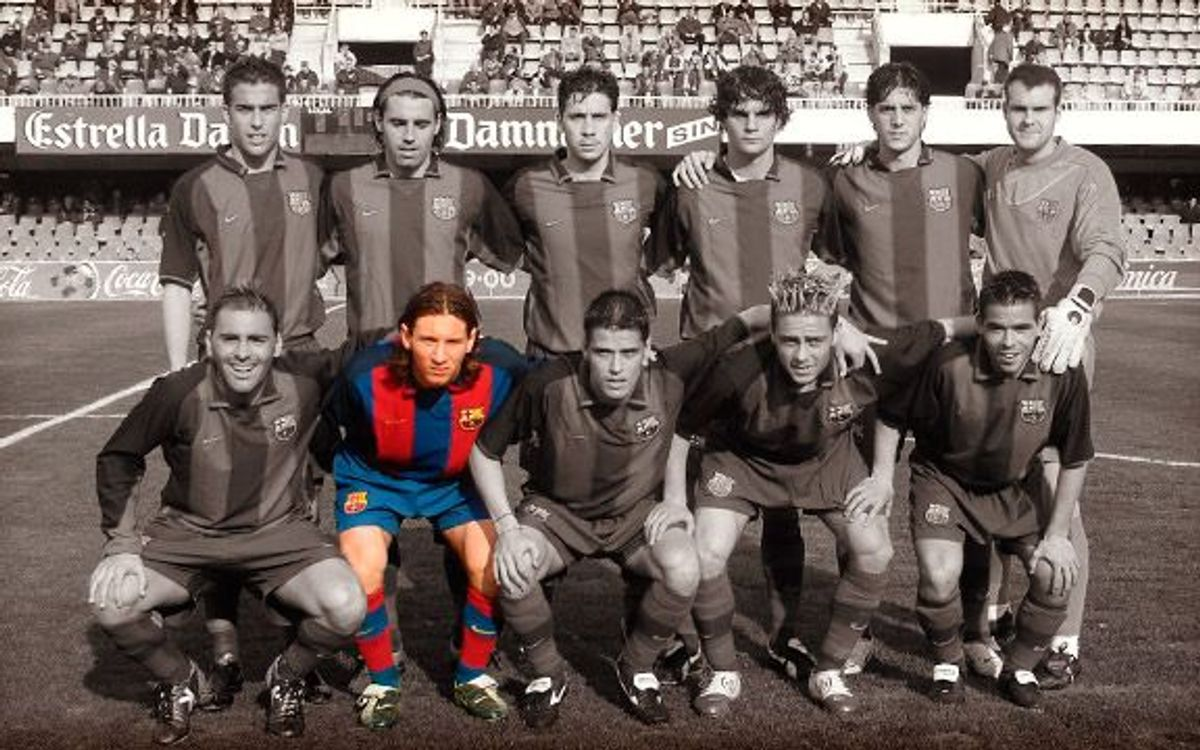 10 years since Messi's FC Barcelona B debut