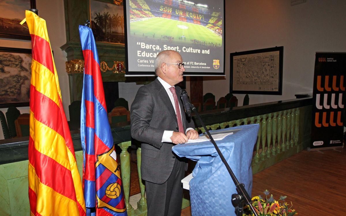 El Barça promocionarà Catalunya a Manchester