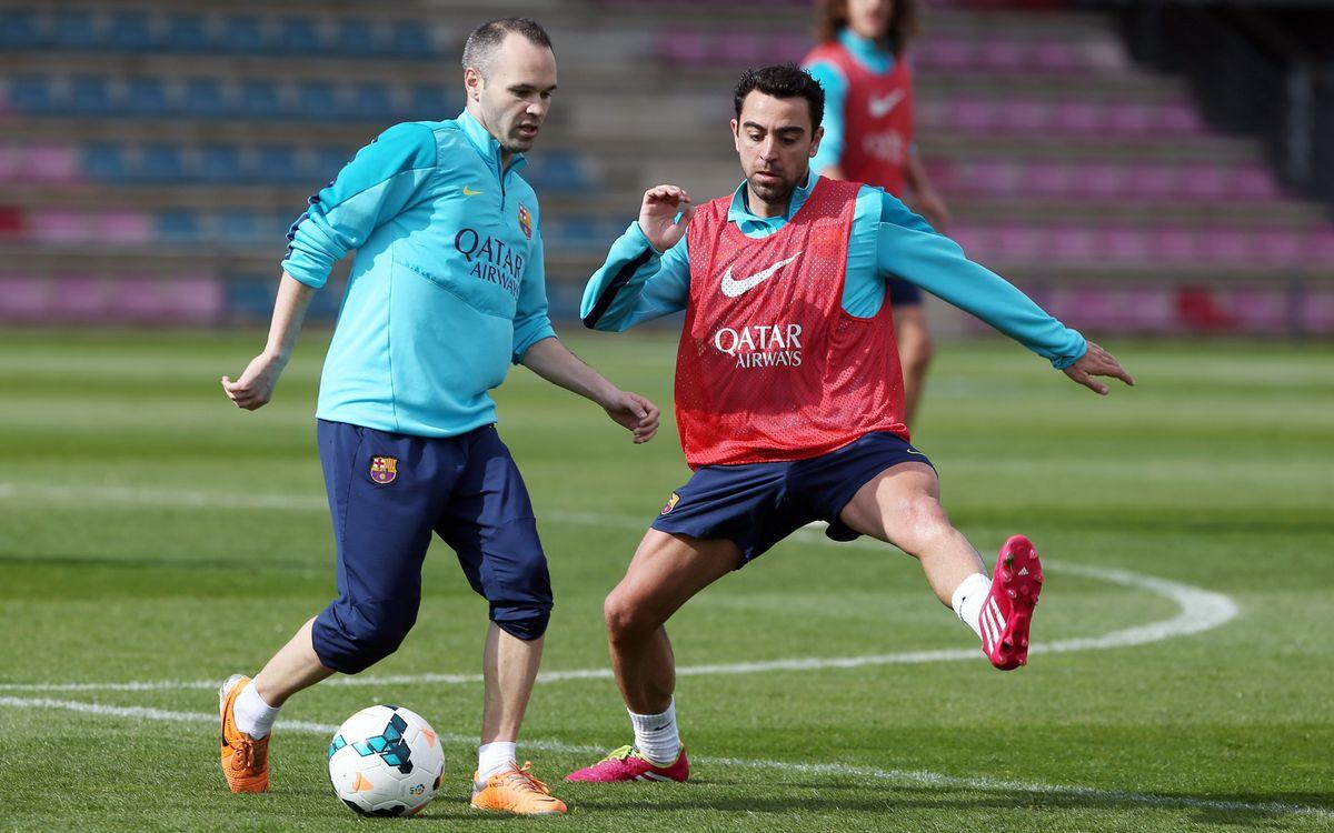 Setmana sense compromisos europeus per preparar el partit a Valladolid