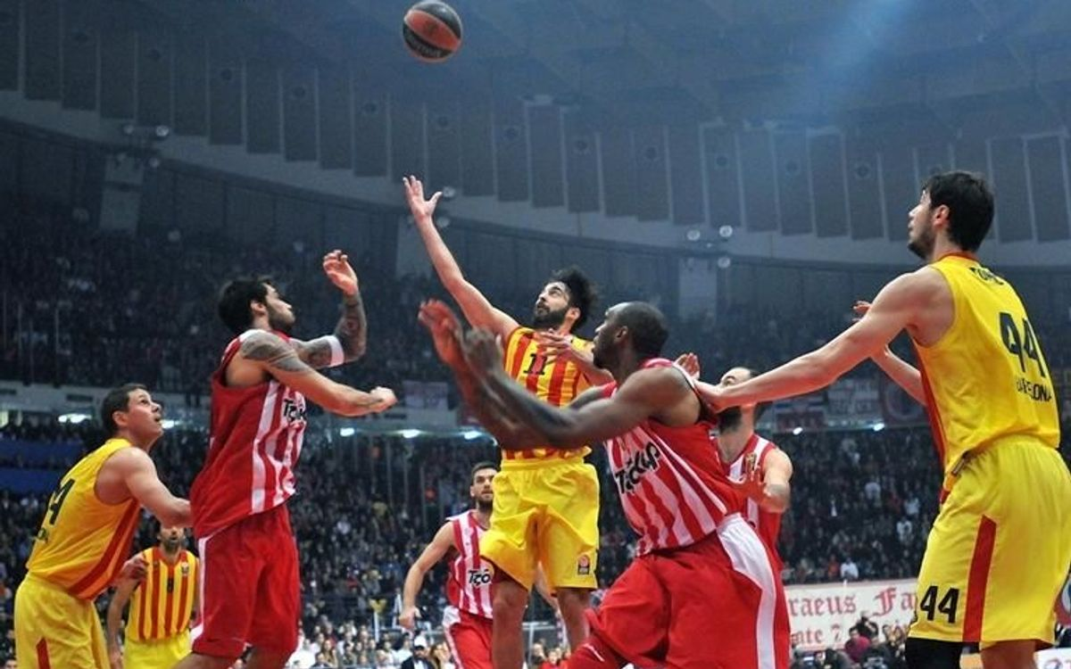 Olympiacos – FC Barcelona: Prestigious win away to the champions (72-81)