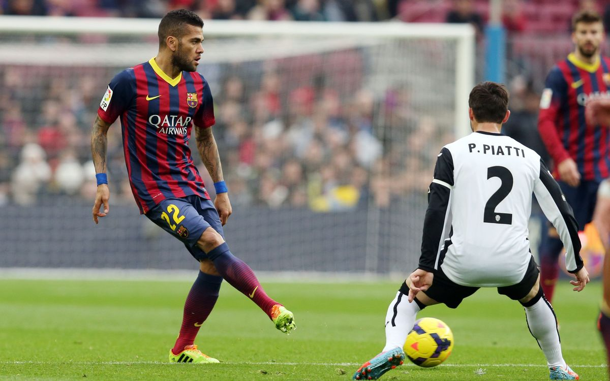 FC Barcelona don't have time to dwell on defeat says Dani Alves