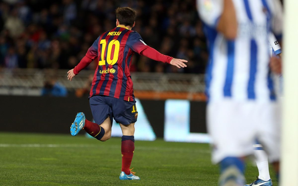 Real Sociedad – FC Barcelona: To the final! (1-1)