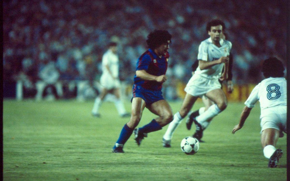 Gols al Bernabéu: la genialitat de Maradona el 1983