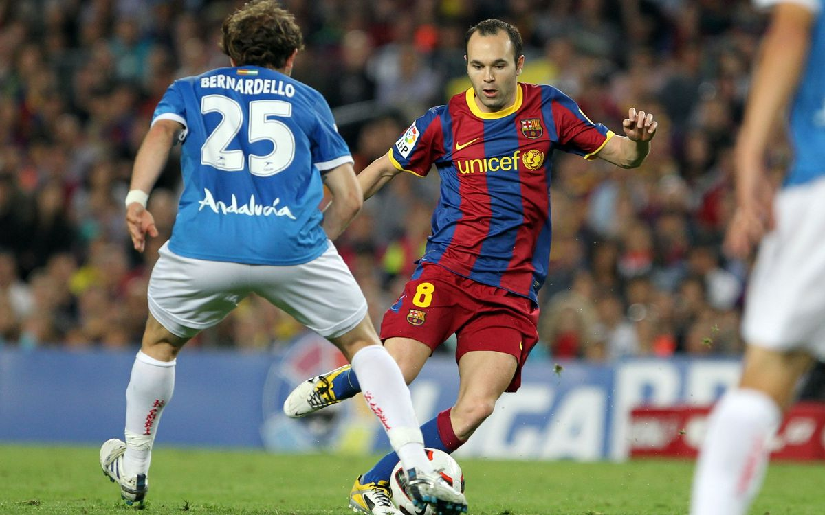 Barça's great record against Almeria