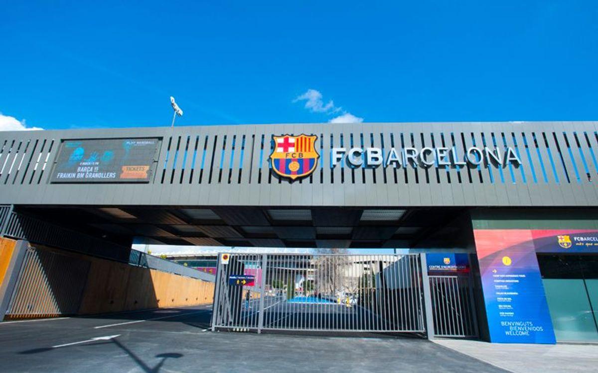 DIRECTE - Presentació nou accés instal·lacions del FC Barcelona
