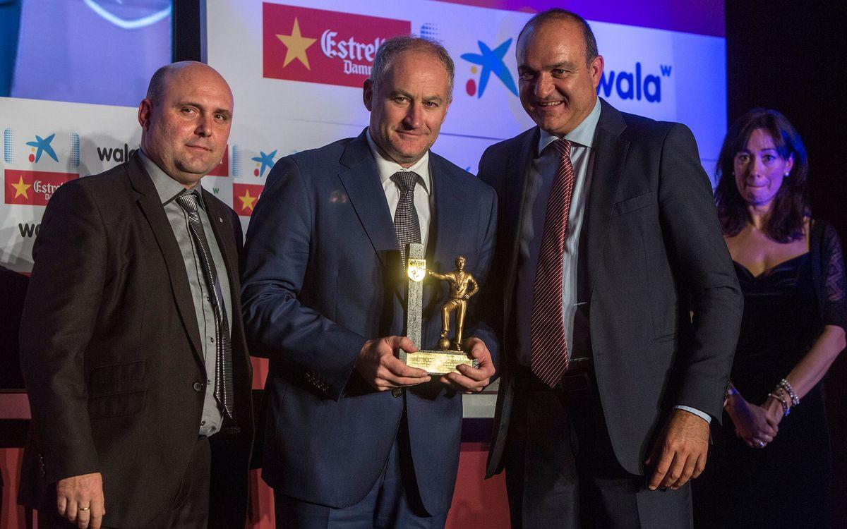 Els èxits de Marc Carmona són reconeguts per la Federació Catalana de Futbol