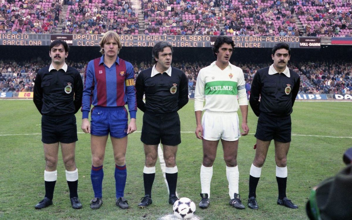 Els Barça-Elx, en cinc detalls històrics
