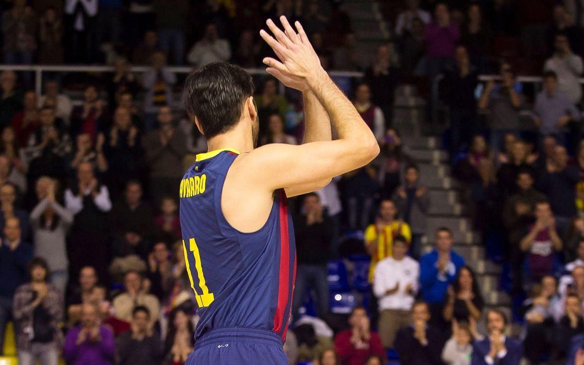 El Barça busca la desena victòria al Top 16 contra l'Olympiacos