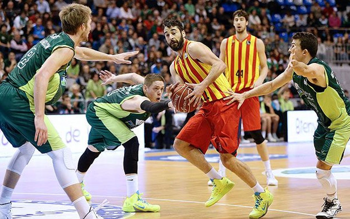 Unicaja – FC Barcelona: Sada and Oleson lead the way against Málaga (69-74)