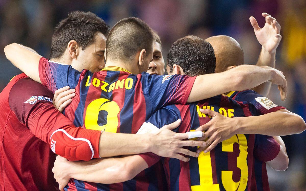 FC Barcelona Alusport – Burela Pescados Rubén: In-form Barça cruise to victory (3-0)