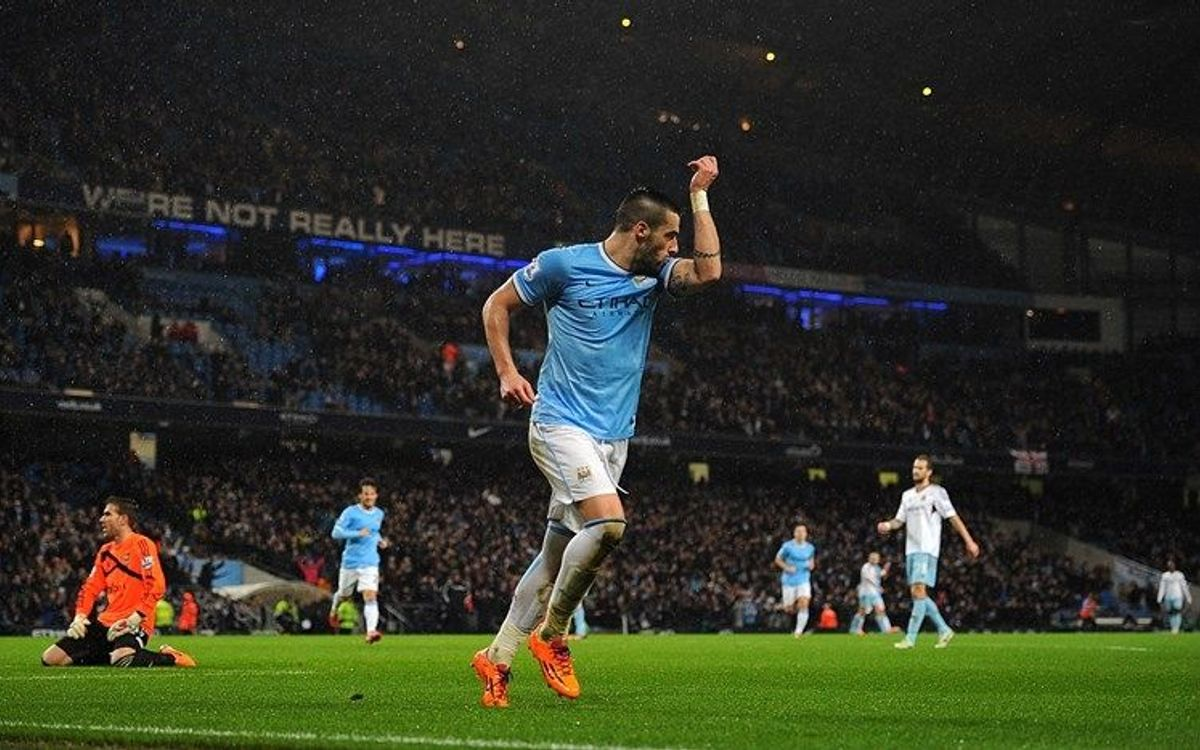 Manchester City cruise in the Capital One Cup (6-0)
