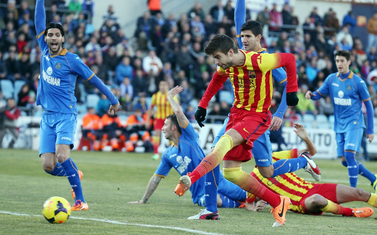 Getafe CF - FC Barcelona: One step from quarter-finals
