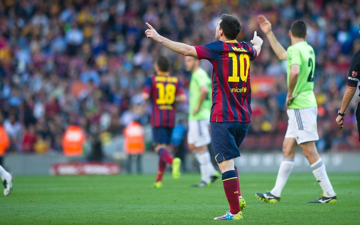 FC Barcelona - CA Osasuna: Goalfest! (7-0)