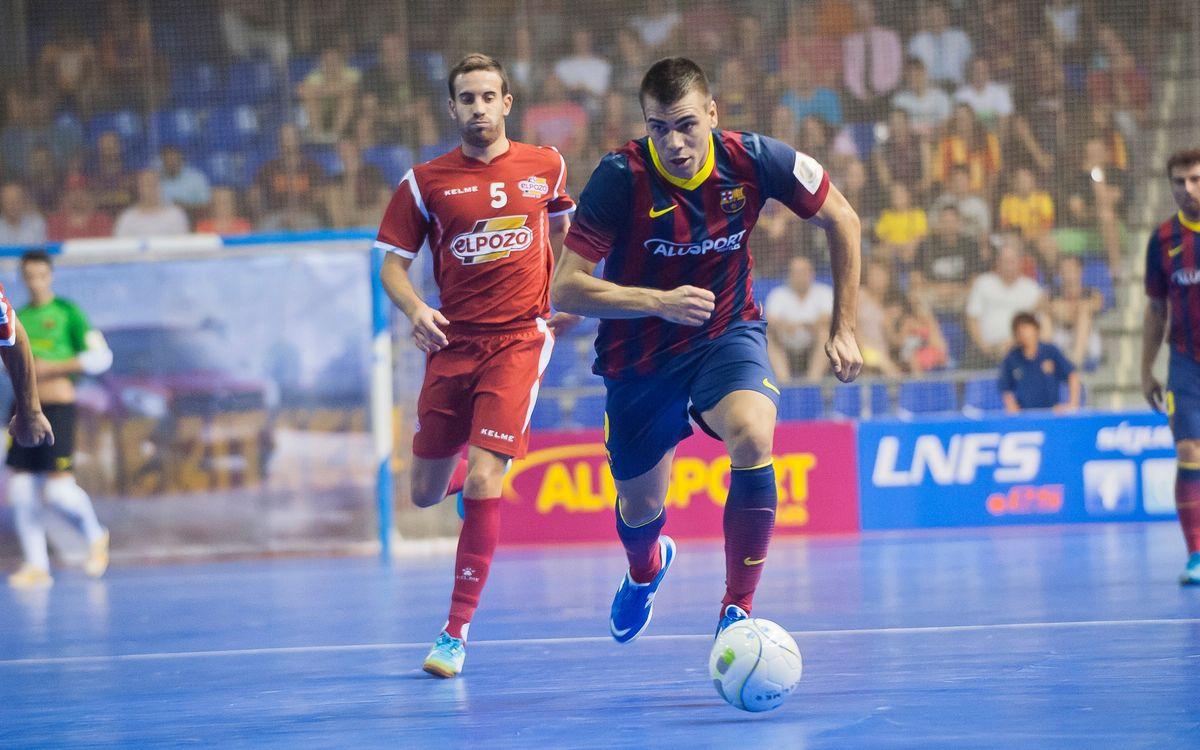 El Barça Alusport busca la segona plaça