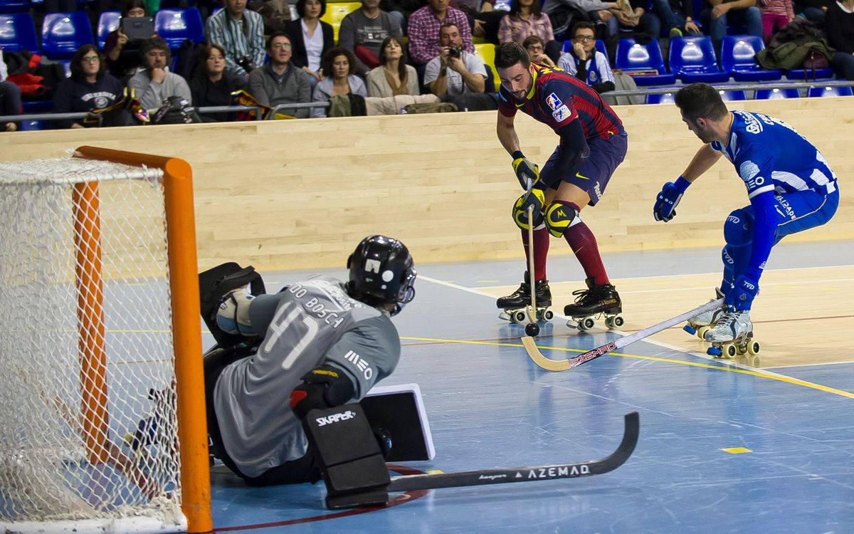 Barça roller hockey v Porto, in three minutes