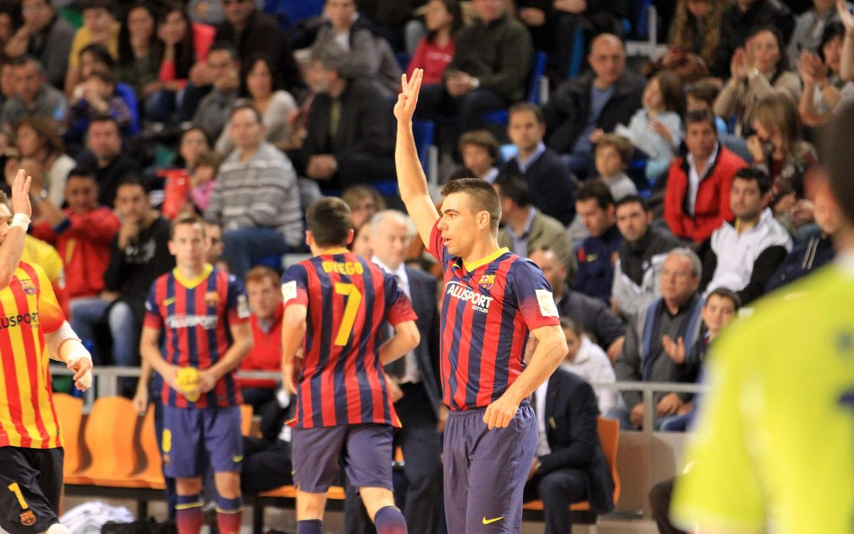 Hospital Llevant Manacor FS - Barça Alusport: The Blaugrana grind out another win (3-4)