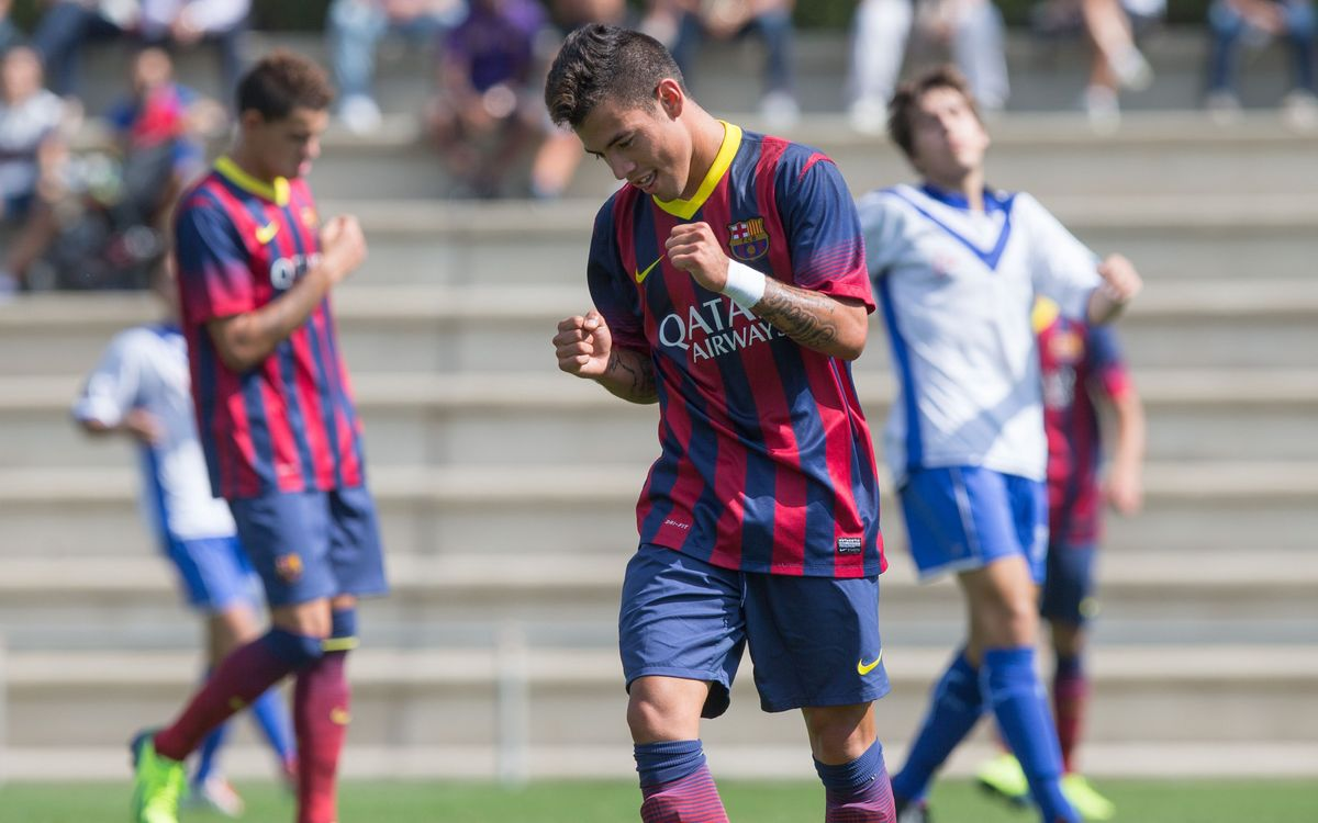 Girona FC - Juvenil A: Maneta de líder (0-5)