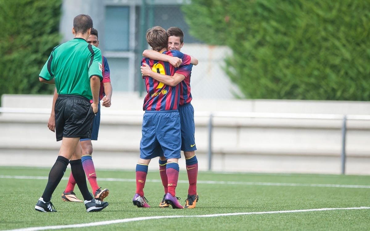 The best five goals from FC Barcelona Academy teams