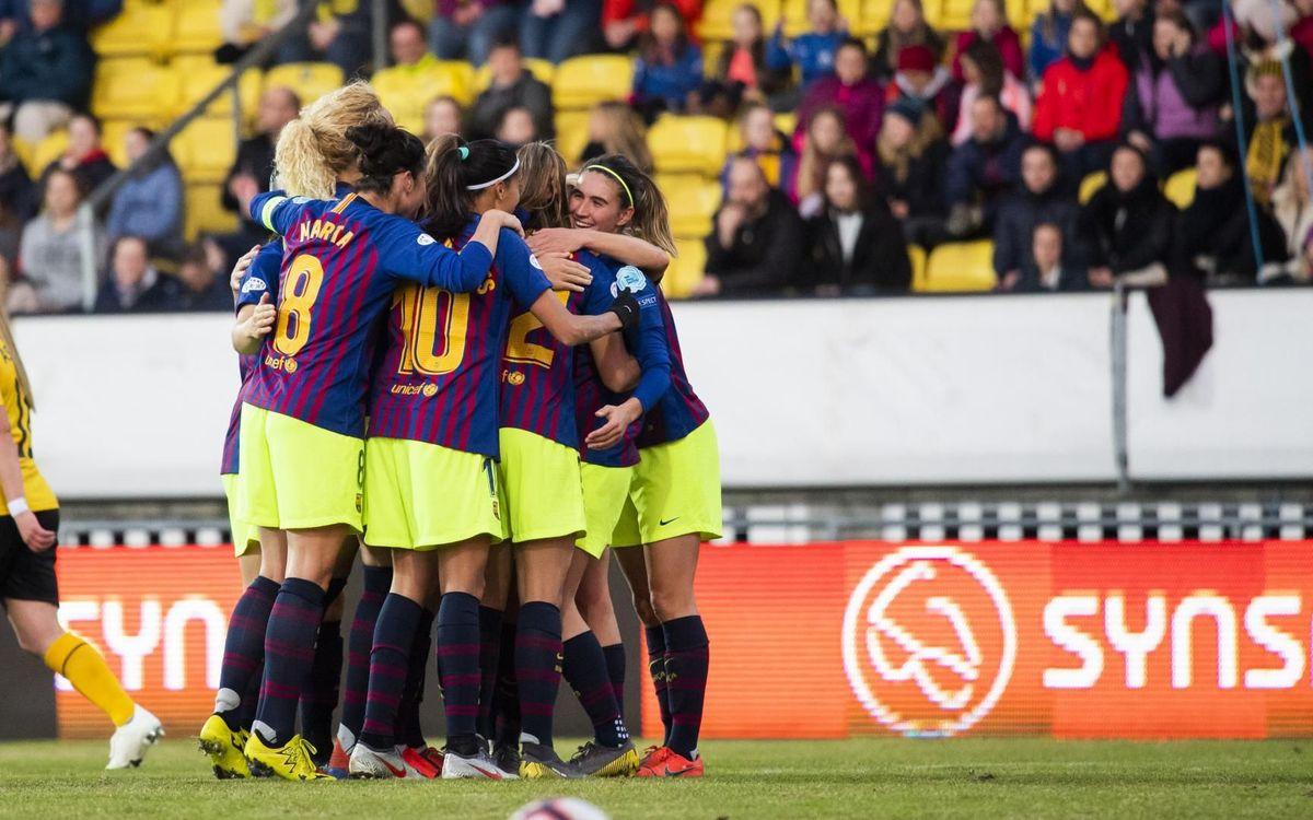LSK Kvinner 0 - 1 Barça: Champions League semifinalists!