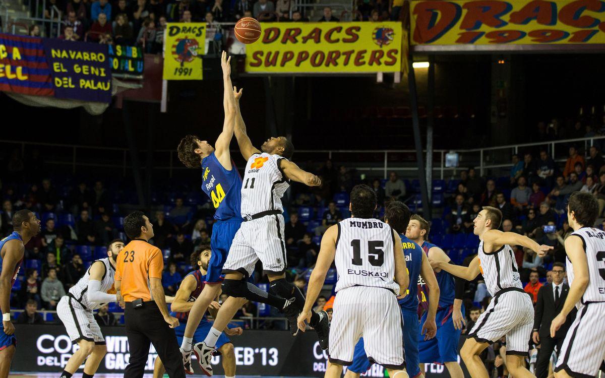 El FC Barcelona-Bilbao Basket es jugarà