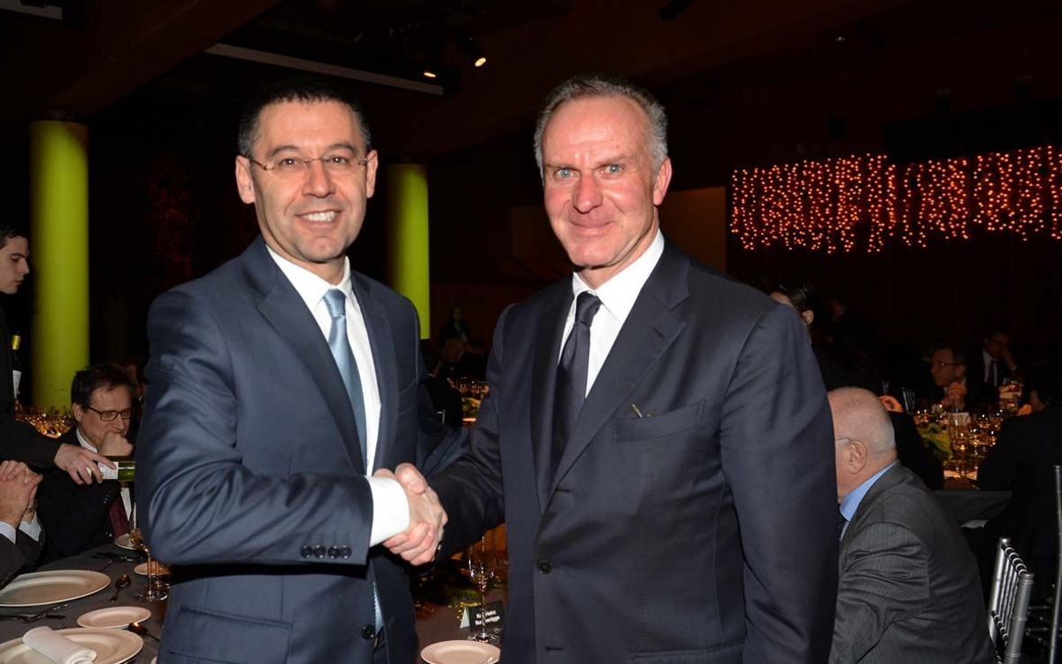 Bartomeu attends ECA meeting