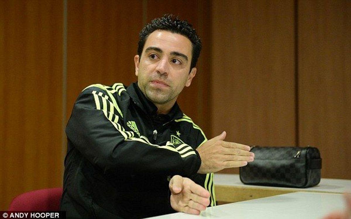 """Xavi: """"Nous attendions un City plus entreprenant"""""""