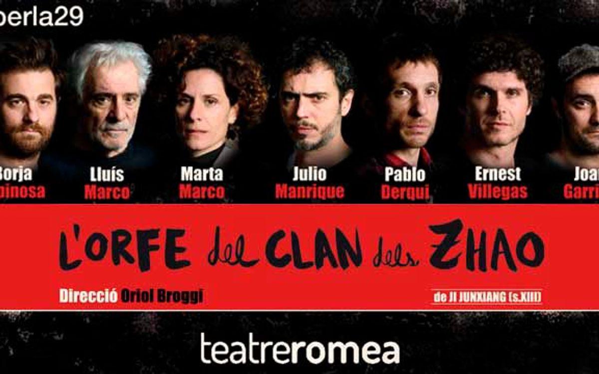 'L'Orfe del Clan dels Zhao' al Teatre Romea