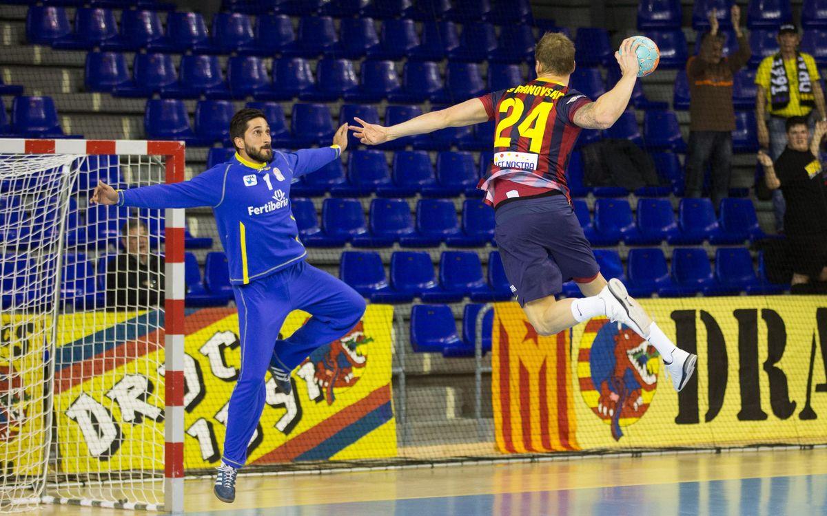 FC Barcelona - Fertiberia Port Sagunt : La Final Four els espera (44-27)