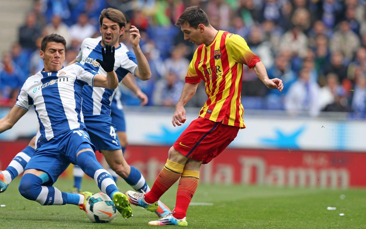 RCD Espanyol - FC Barcelona: Thrilling derby win (0-1)