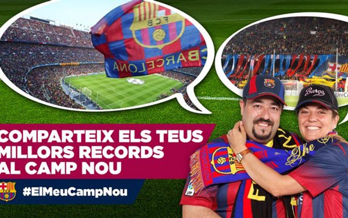 #ElMeuCampNou: Les teves fotos més emotives del Camp Nou