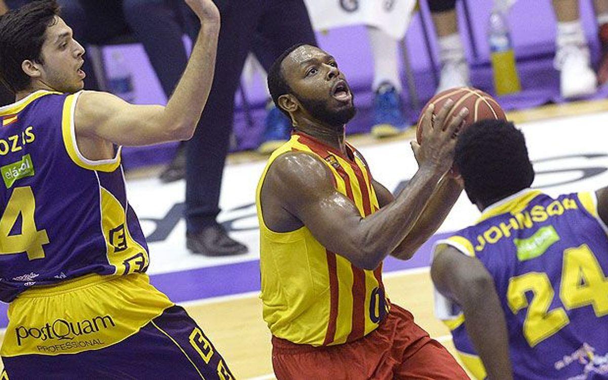 CB Valladolid - FC Barcelona: Pullen runs rampant (66-111)