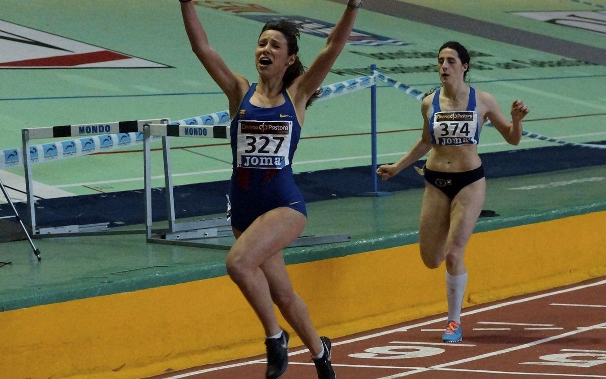 Cristina Lara, rècord d'Espanya Júnior en Pista Coberta als 200 metres