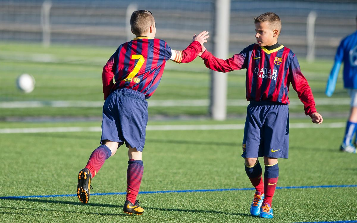 The best five goals from FC Barcelona youth teams