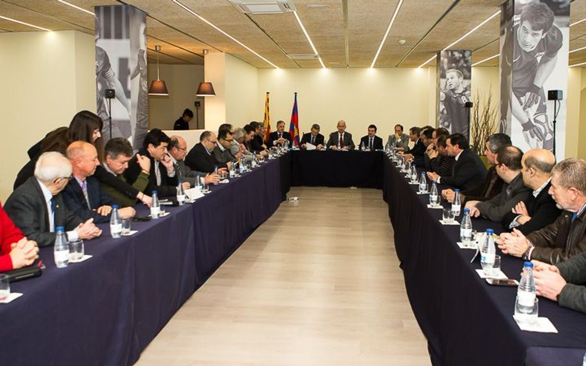 Extraordinary plenary meeting of the Supporters Club Council