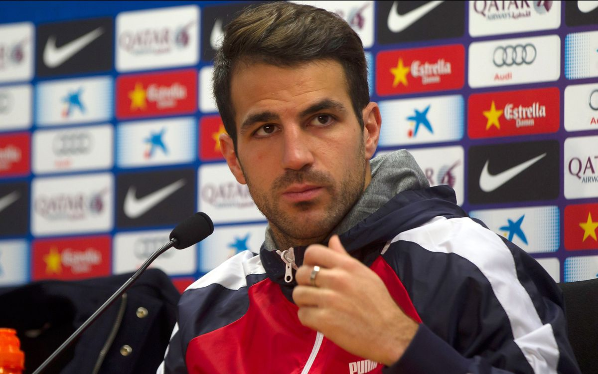 Cesc expecting brilliant reaction