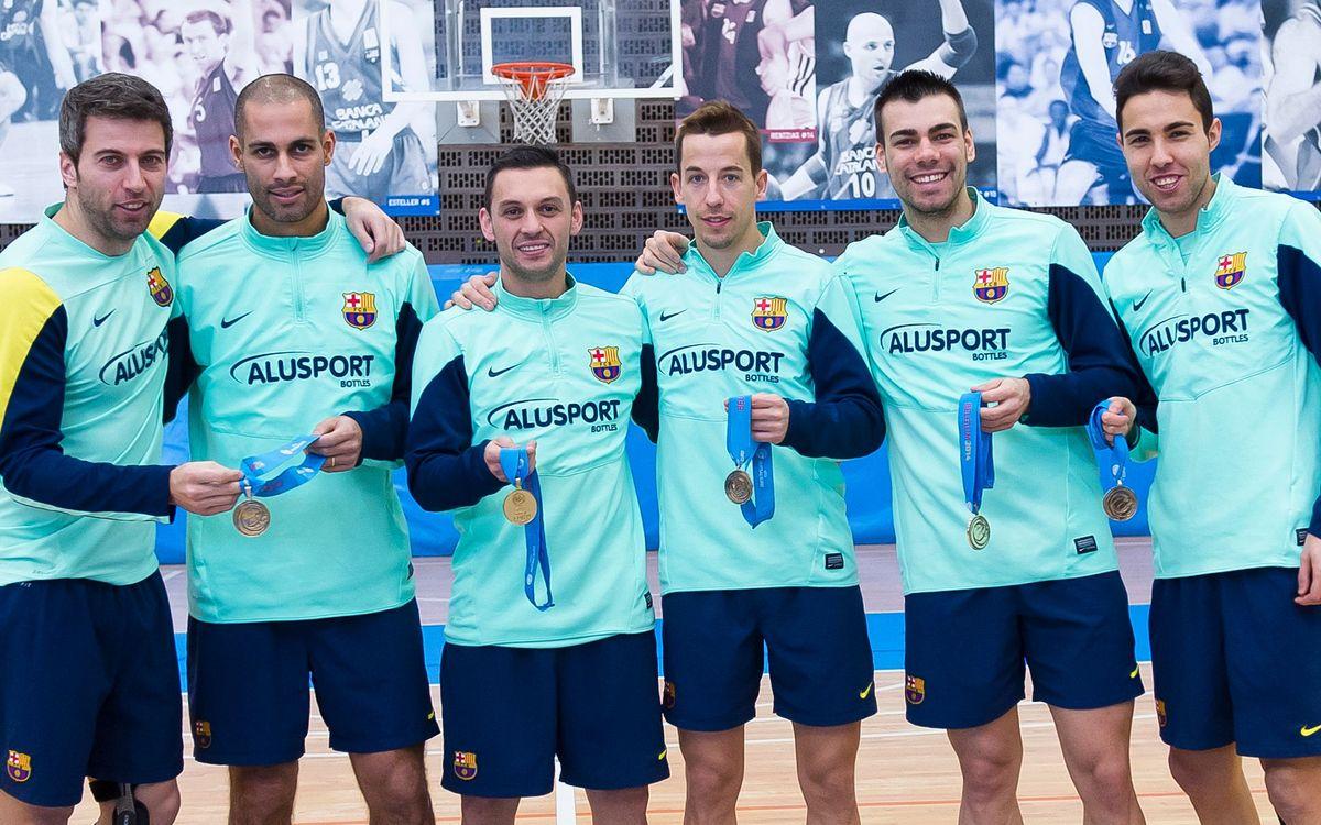 Marc Carmona recupera els homes que han jugat l'Europeu