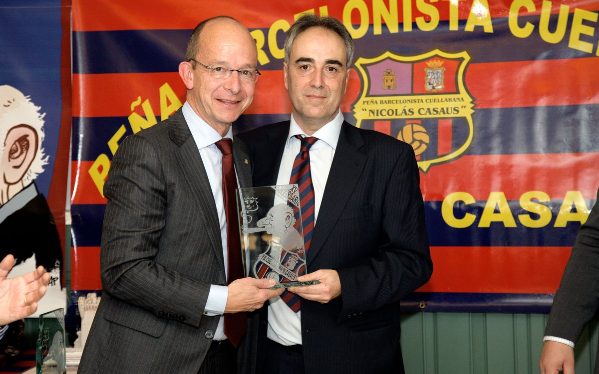15th Anniversary of the Penya Barcelonista Cuellarana Nicolau Casaus