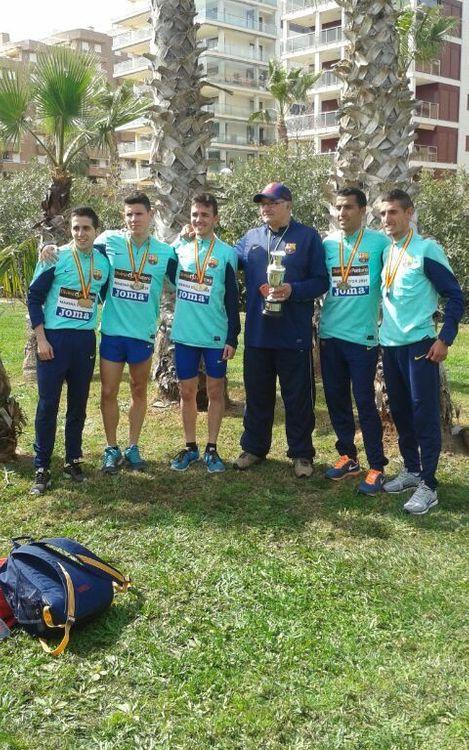 Un altre cap de setmana d'èxits per a l'atletisme blaugrana