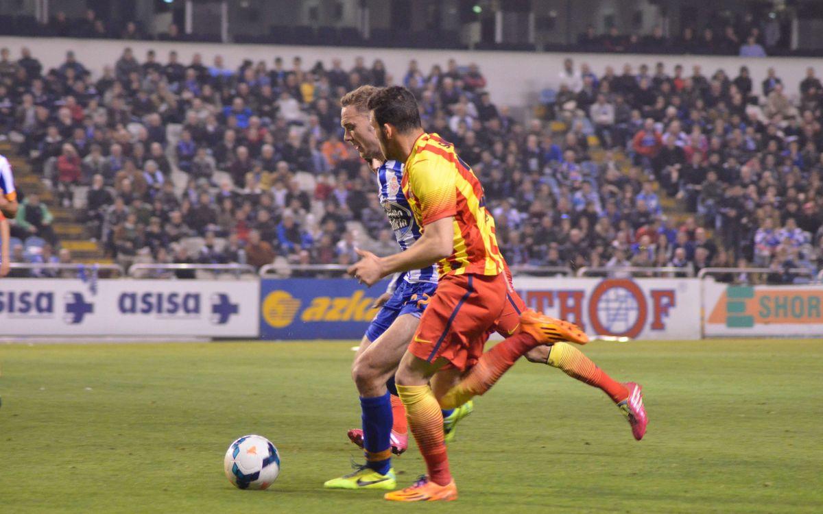 Deportivo de la Coruña – FC Barcelona B: Point won at legendary Riazor(0-0)