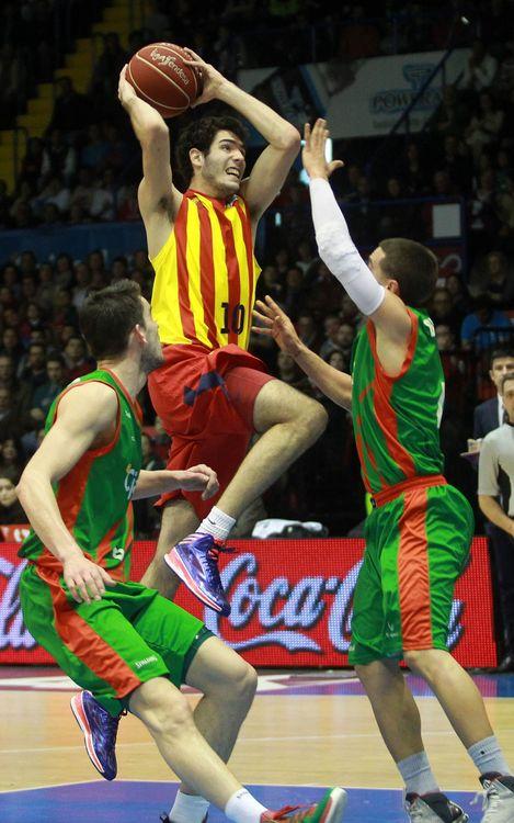 Cajasol – FC Barcelona: El més destacat, la victòria (57-62)