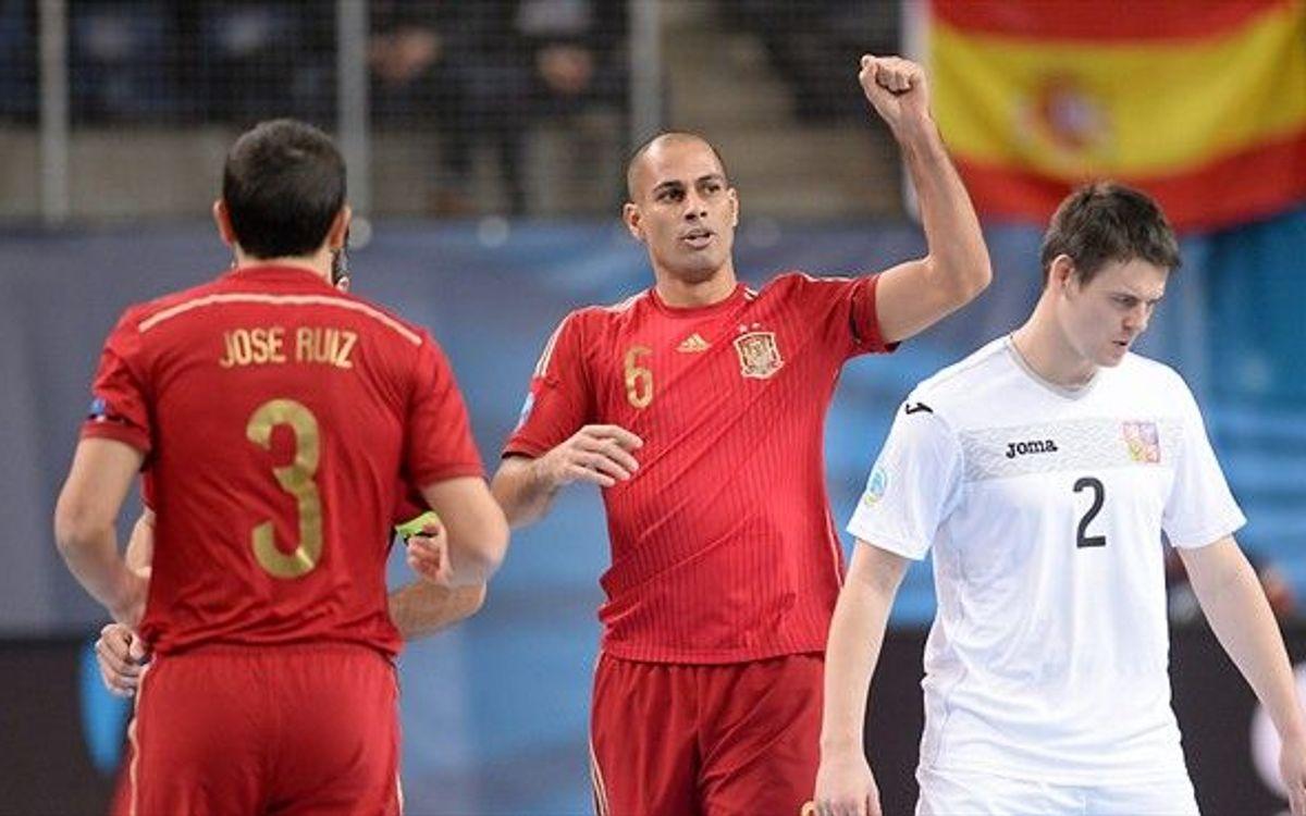 Els blaugranes són els màxims golejadors a la selecció espanyola
