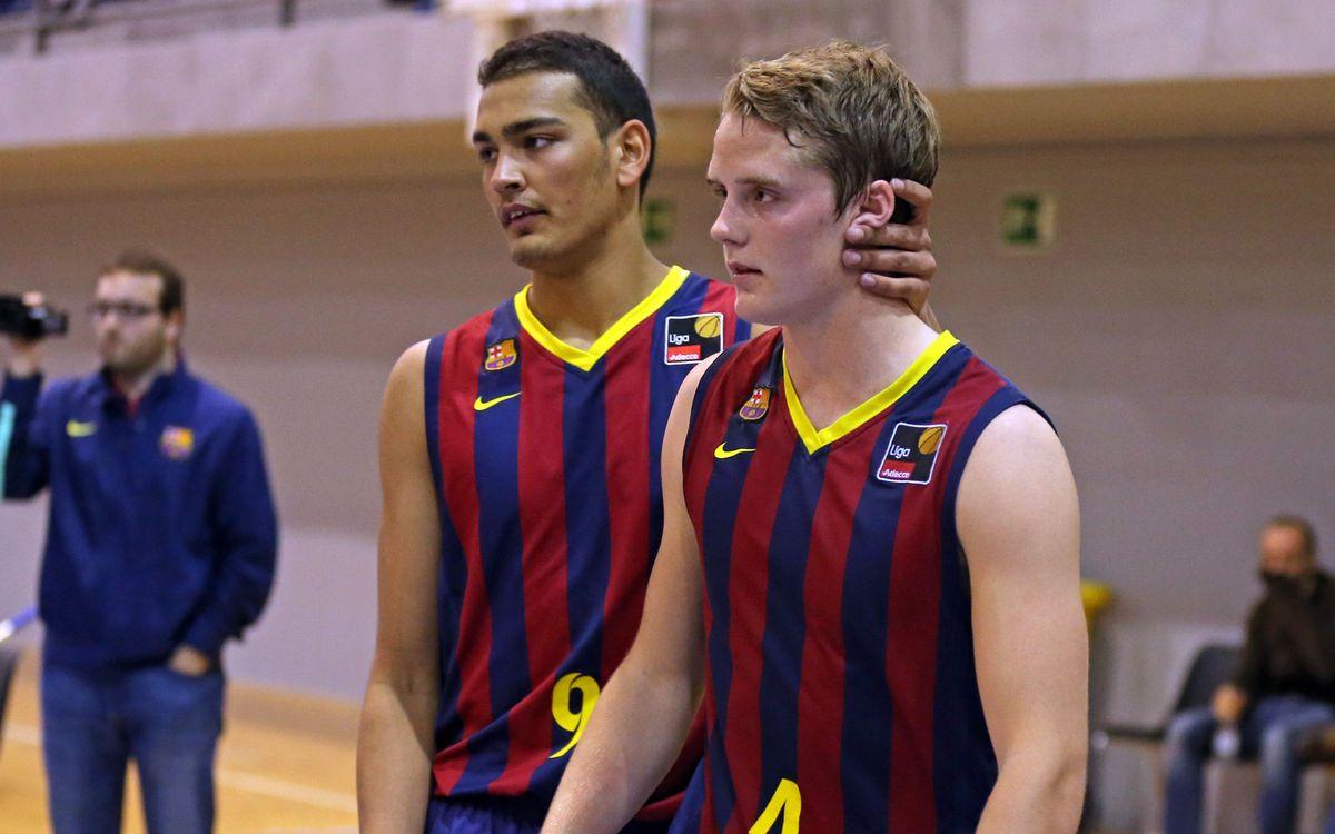 FC Barcelona B – Ourense: La experiencia les supera (55-61)