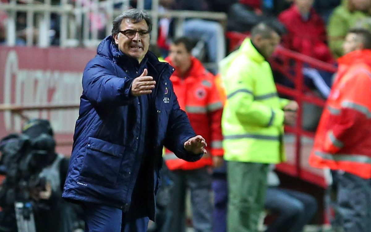 Tata Martino believes FC Barcelona improved after the equaliser