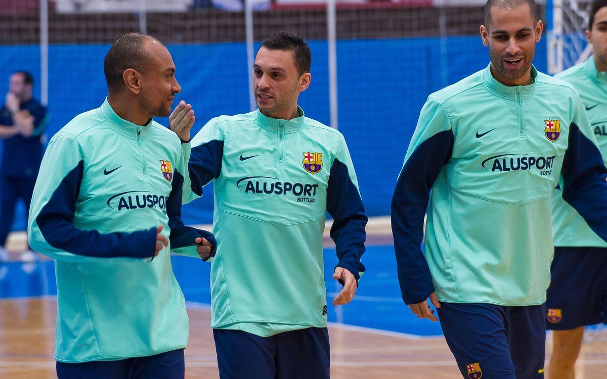 Després de tres setmanes, el Barça Alusport torna a la Lliga