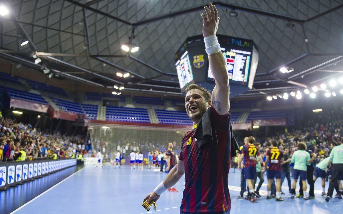 La novena Copa Asobal del FC Barcelona d'handbol