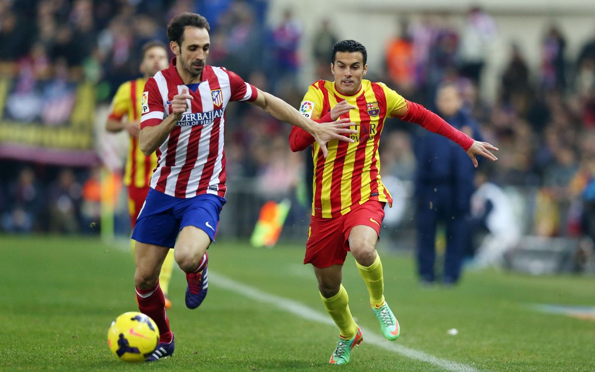 Facts and figures from the Atletico Madrid game