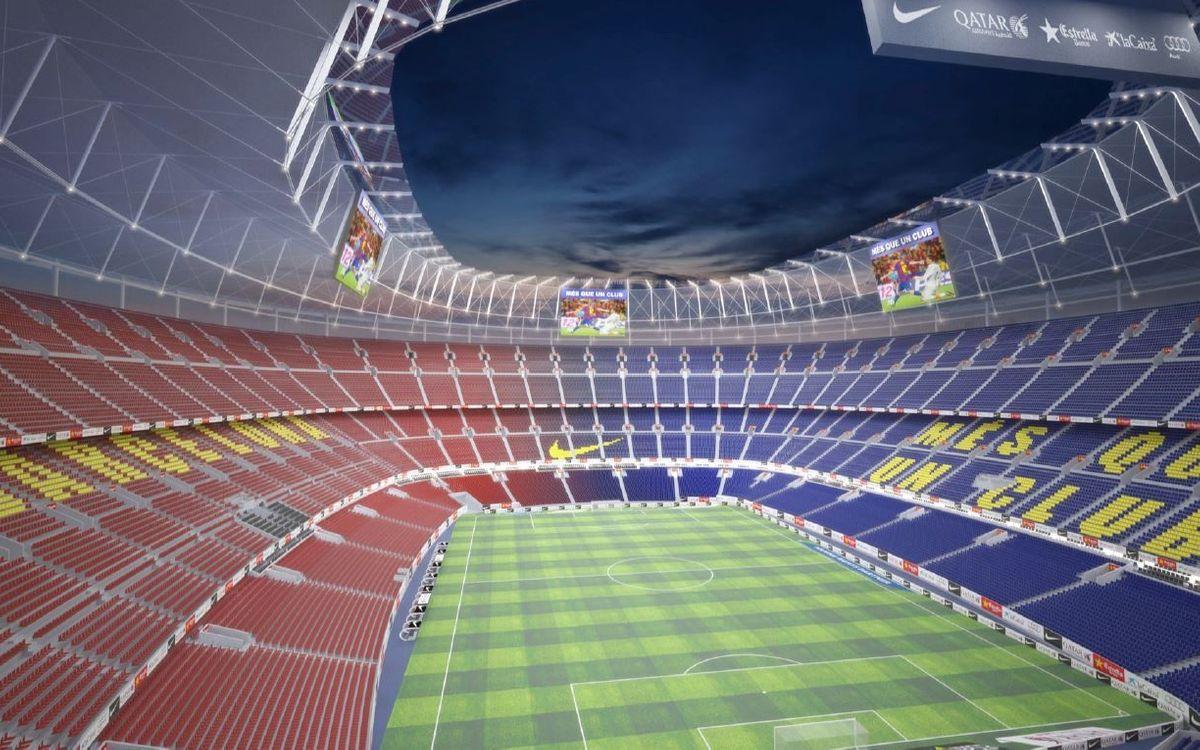 Un estadi nou amb l'estructura actual
