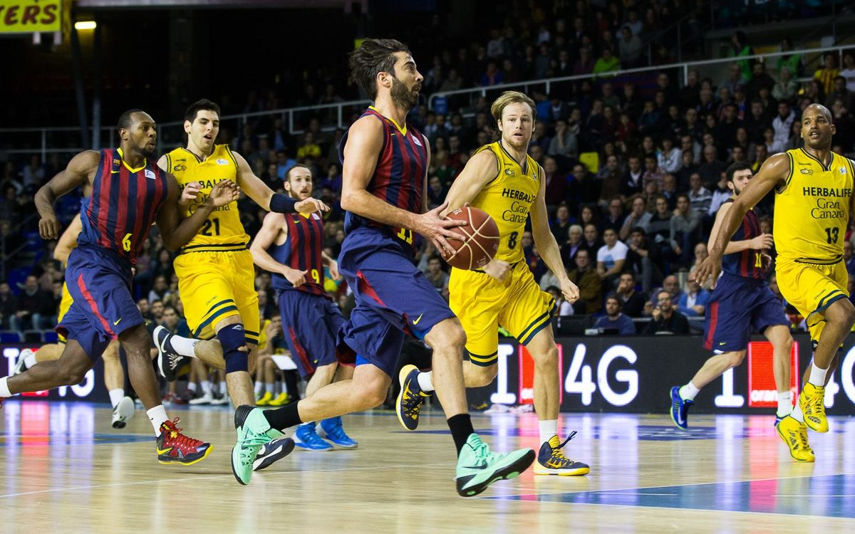 FC Barcelona - Herbalife Gran Canària: Victory in a match best forgotten (62-52)