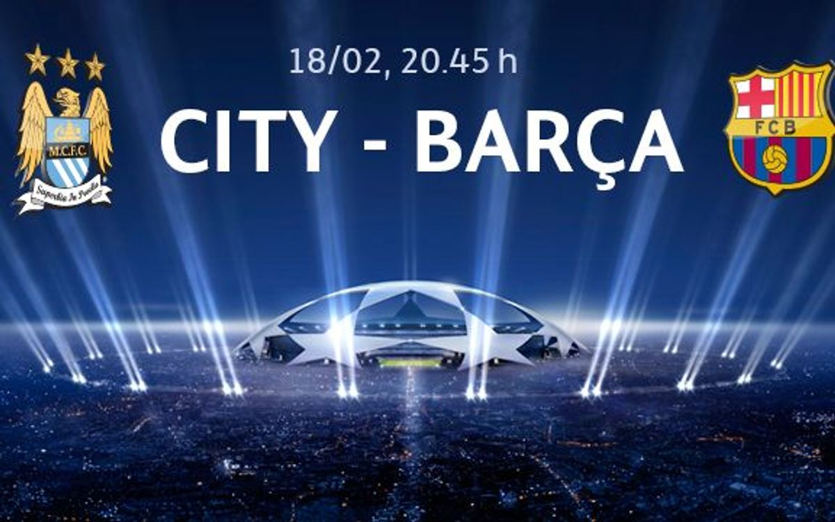 Manchester City v FC Barcelona: applications from January 27th